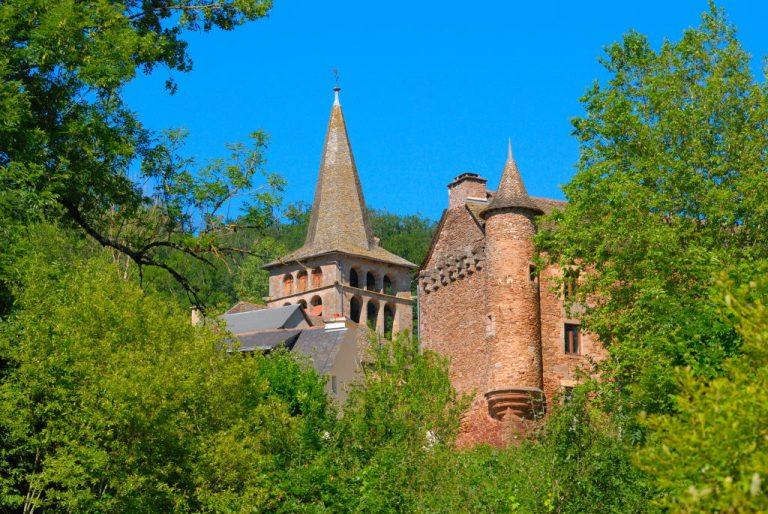 Château et église